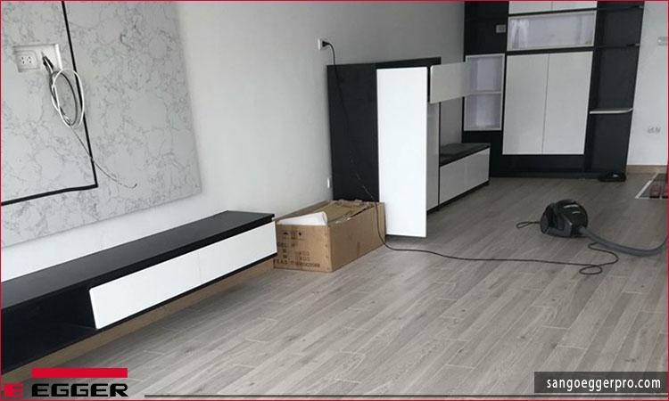 Công trình sàn gỗ Egger EPL051 cho chung cư