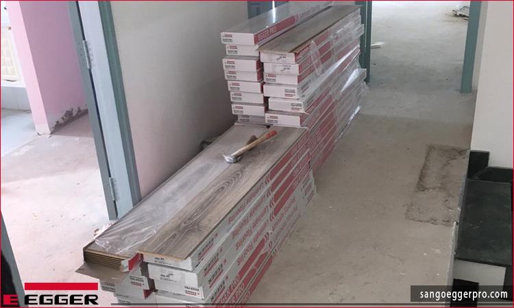 Công trình sàn gỗ Egger EPL035