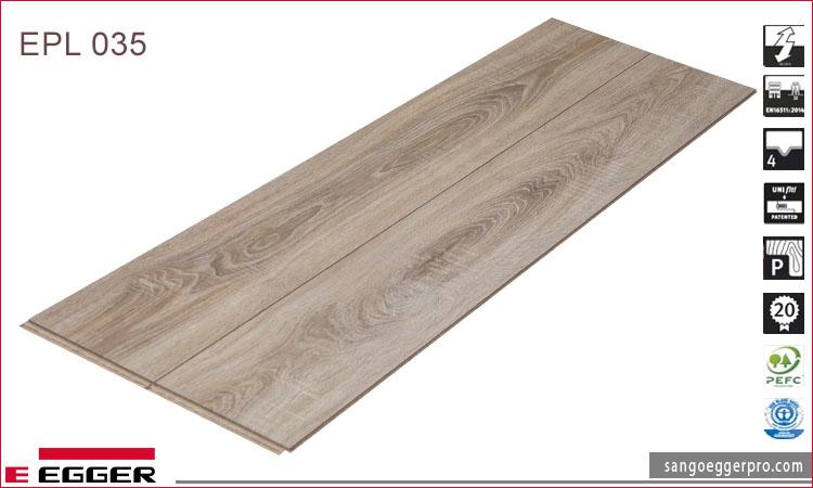 Sàn gỗ Egger Pro 8mm EPL 035