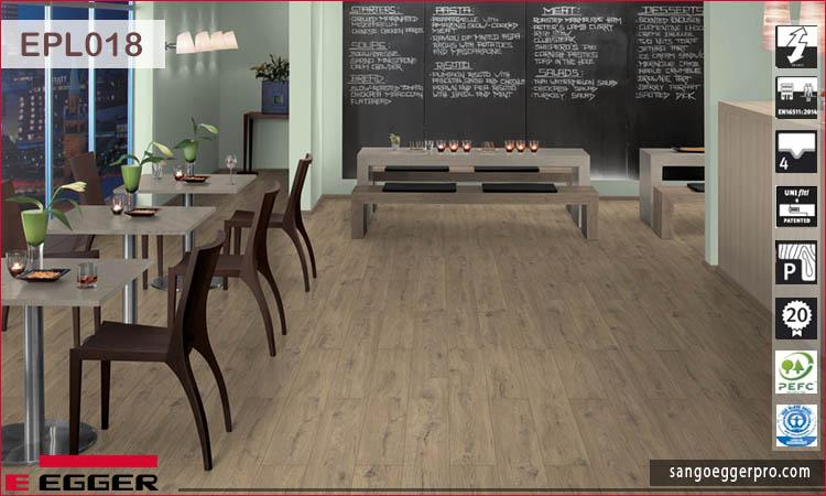 Sàn gỗ Egger Pro Aqua Plus EPL018